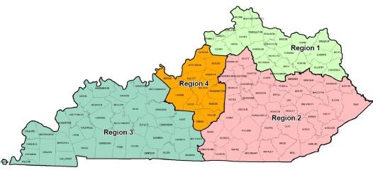 KSA Member Region Map